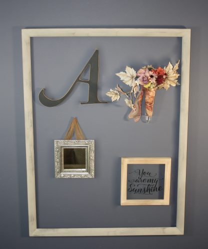 Open frame for gallery wall